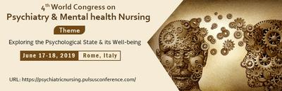 2019 World Congress on Psychiatry and Mental Health Nursing