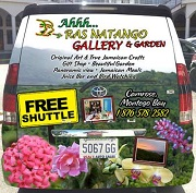 Ahhh...Ras Natango Gallery and Garden Free Shuttle