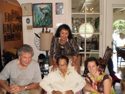 Visiting Diana's Mother in Mandeville