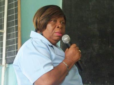 Brenda Taylor Vice Chairman Buckingham School