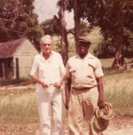 Sdney Aguilar with Clarence Lawson