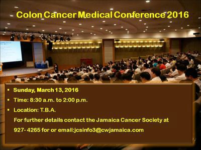 Colon Cancer Medical Conference 2016