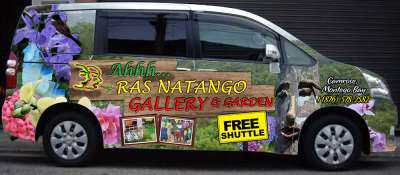 The Ahhh...Ras Toyota Noah Shuttle