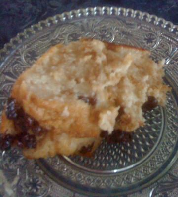 Isalnd Life Bread Pudding ... the first slice