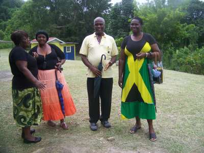 Jamaica 50th Celebrations in Camrose Village