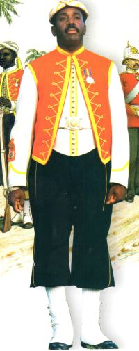 Jamaica Military Band Uniform