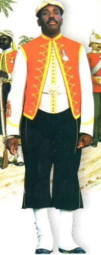 Jamaica Military Band Uniform