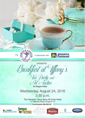 Jamaica Cancer Society Tea Party and Art Auction