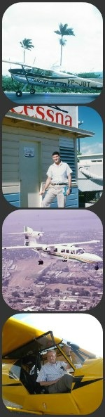 Collage of Jamaica Air Taxi photos