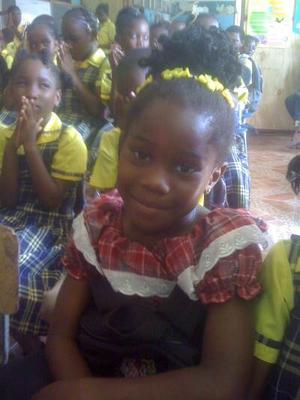 Buckingham Primary School children