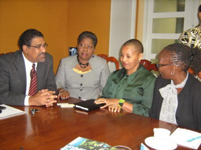 CCTNSA Team meets with Jamaica's Minister of Tourism