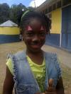 Young Girl with Face Paint at Toys For Tots