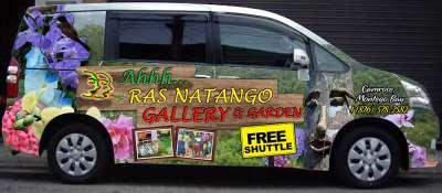The Ahhh...Ras Toyota Noah Shuttle
