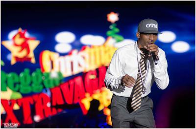 Artist On Stage at Gt Taylor Christmas Extravaganza 2017