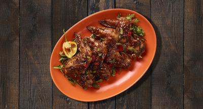 Jamaican Oven Baked Jerk Chicken Wings