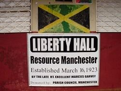 Liberty Hall, Resource Village, South Manchester, Jamaica