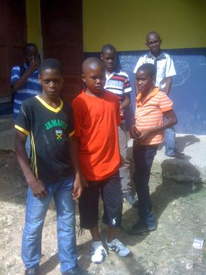 Children at Buckingham Primary School