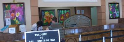 Ras Natango's Paintings in Lobby of Hotel Riu