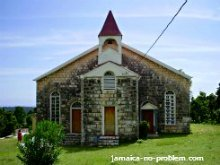 Salem Moravian Church in Beeston Spring