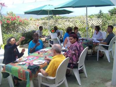 Sampling Ahhh...Ras Natango hospitality