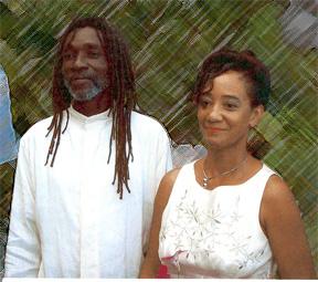 Ian and Tamika Williams from Ahhh...Ras Natango Gallery and Garden